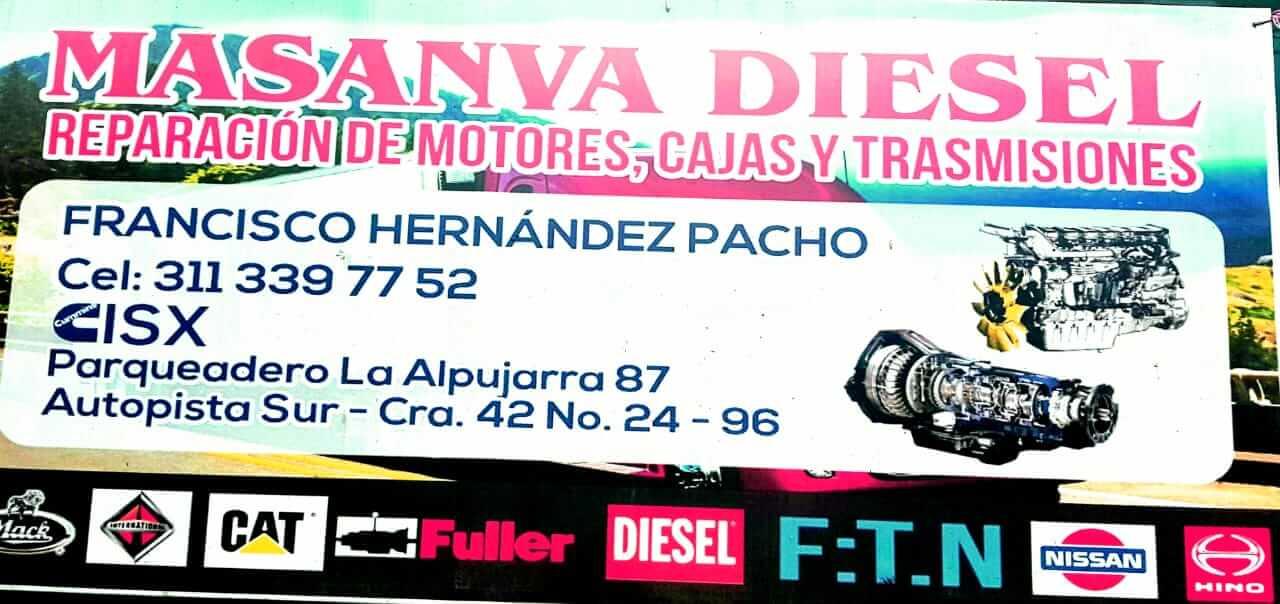Reparación de Motores Masanva_Diesel