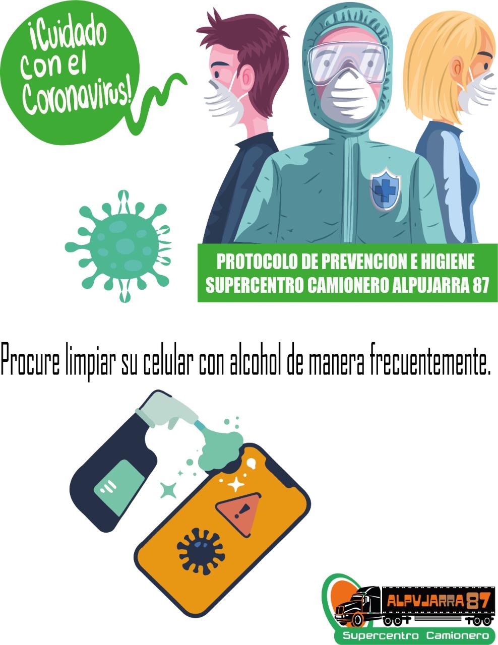 Consejo contra Prevencion covid 19